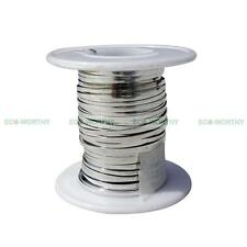 50'/100'/200'/300' 2mm Tabbing Wire w/ Bus Wire for DIY Soldering Solar Panel