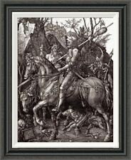 'Knight, Death and the Devil' by Albrecht Durer Framed Painting Print