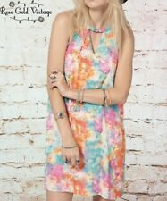 NWT Boutique Peach Love CA Watercolor Summer Swing Dress - Small, Medium & Large