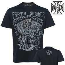 West Coast Choppers T-Shirt Parts And Service Custom Biker Jesse Size S - 4XL