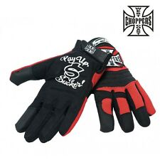 West Coast Choppers WCC Gloves Motorcycle Gloves Gloves Biker NEW