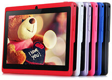 "NEW 7"" Inch Android 4.4  1.2GHz 512MB RAM 4GB ROM Dual Cameras Tablet PC"