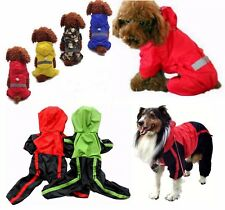 Dog waterproof rain coat, trouser suit, clothes, onesie SMALL to EXTRA LARGE new