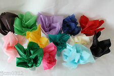 10 / 20 / 50 Sheets Quality Tissue Paper *Choose From Many Colours* Wrap / Craft