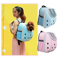 Portable Small Size Pet Dog Puppy Cat Travel Backpack Handbag Auto Carrier Bag N