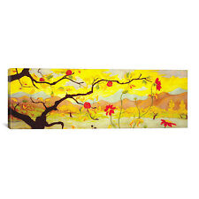 iCanvas 'Apple Tree with Red Fruit' by Paul Ranson Painting Print on Canvas