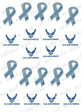 20 Proud MILITARY WIFE Ribbon Water Slide Nail Decals Proud  Army Wife, Navy Wif
