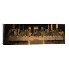 'The Last Supper IV' by Leonardo Da Vinci Painting Print on Wrapped Canvas