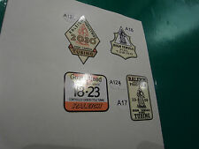 Vintage Raleigh Industries tubing decals. CHOICE for Raleigh, BSA, Rudge, Humber