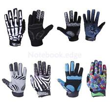 Cycling Racing Motorcycle Bicycle Bike Full Finger Gloves Winter Warm Size M-XL