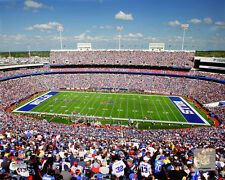 Ralph Wilson Stadium Buffalo Bills Licensed Fine Art Print (Select Photo & Size)