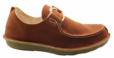 Timberland x POZU Moc Toe Ox Oxford Mens Boat Shoes Lace Up Rust Brown 47557 T1
