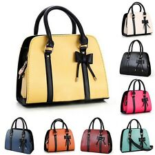 New Ladies Messenger Shoulder Bag Satchel Bow-knot Handbags Purse Totes Gift
