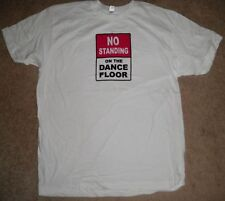 NEW Motionwear Red White Black DANCE Hip Hop Jazz Top Gift T Shirt Adult L Large