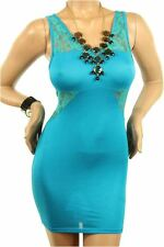 DEALZONE Fascinating Lace Accent Dress M L Medium Large Women Other Career USA