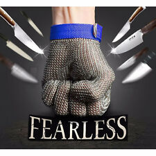 1Pc Safety Cut Proof Stab Resistant Stainless Steel Metal Mesh Butcher Glove