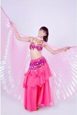Gypsy Belly Dancer Tribal Costume Jupe Dancing Costumes Top Bra Hip Scarf Skirt