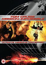 Mission: Impossible 1, 2 And 3 (DVD, 2006, 5-Disc Set, Box Set) NEW