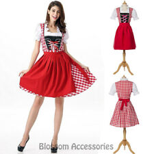 K177 Ladies Oktoberfest Costume Bavarian German Heidi Dirdnl Leiderhosen Beer