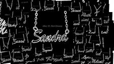 Personalised Name Necklace- CHERYL/CHRISTINE/CLAIRE/CLARE/COURTNEY/Initial D