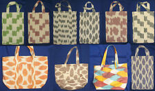 HANDMADE SILK FABRIC IKAT ADRAS SHOULDER BAG  IN VARIATIONS!