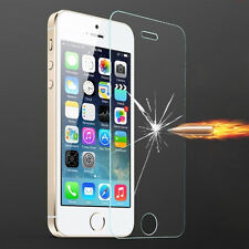 New Premium Real Tempered Glass Screen Protector film guard For Apple iPhone