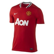 NEW $80 MENS SOCCER FOOTBALL NIKE MANCHESTER UNITED JERSEY T-SHIRT AUTHENTIC