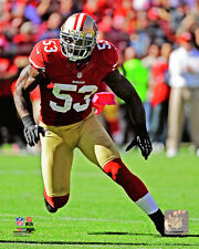 NaVorro Bowman San Francisco 49ers NFL Fine Art Prints (Select Photo & Size)