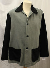 1940s Mens Navy & Light Blue/Grey check Casual Sports Jacket WWII reenactment