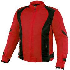 Xelement Impulse Women's Black/Red Mesh Tri-Tex Armored Motorcycle Jacket