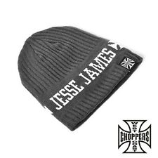West Coast Choppers Beanie WCC Jesse James Knitted Cap ONE SIZE NEW
