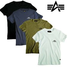 Alpha Industries Men'S Man T-Shirt Sports Rib Fitness Gym S M L XL XXL 3XL NEW