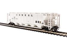 Broadway Limited 4092 HO Conrail PRR Class H32 5-Bay Covered Hopper (2)