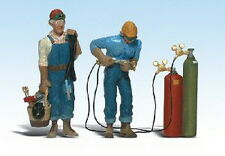 Woodland Scenics A2544 G Scale Welder Brothers Figures