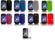 LCD + TPU Flexi Soft Gel Cover Case for Samsung Galaxy Proclaim S720C SCH-S720C