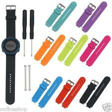 Soft Silicone Replacement Wrist Watch Band for Smart Garmin Forerunner Watch