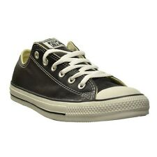 Converse Chuck Taylor All Star Men's Black Leather Ox Low top 107348