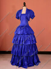 Civil War Victorian Princess Gown Dress Theater Reenactment Clothing 193