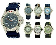 Terrain Gents Mens Boys Easy Fasten Surf Sports Water Resistant Watch Analogue