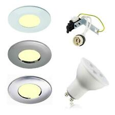 8 X IP65 LED SOFFIT OUTDOOR / BATHROOM SHOWER DOWNLIGHTS GU10 240V