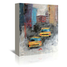 Americanflat Street by Annie Rodrigue Painting Print on Wrapped Canvas