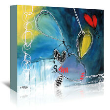 Americanflat 'Motus 4' by Annie Rodrigue Painting Print on Wrapped Canvas