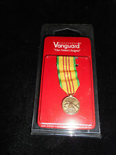 Vanguard New in Package Army Veitnam Service Mini Medal