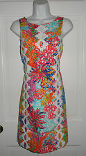 NWT LILLY PULITZER MULTI FISHING FOR COMPLIMENT EMBER SHIFT DRESS  2
