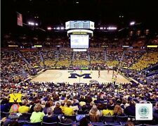 Michigan Wolverines Crisler Center NCAA Basketball Photo PT061 (Select Size)