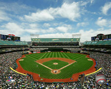 O.co Coliseum Oakland A's MLB Licensed Fine Art Prints (Select Photo & Size)