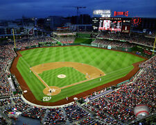 Washington Nationals Park MLB Licensed Fine Art Prints (Select Photo & Size)