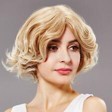 Hot Selling Bob Hair Ladies Natural Short Curly/Straight Hair Women's Wigs