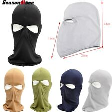1pc Unisex Outdoor Motorcycle Full Face Mask Lycra Balaclava Ski Neck Protection