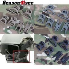Tactical Goggle Swivel Clips for Fast Helmet Rails Airsoft Military Outdoor Hunt
